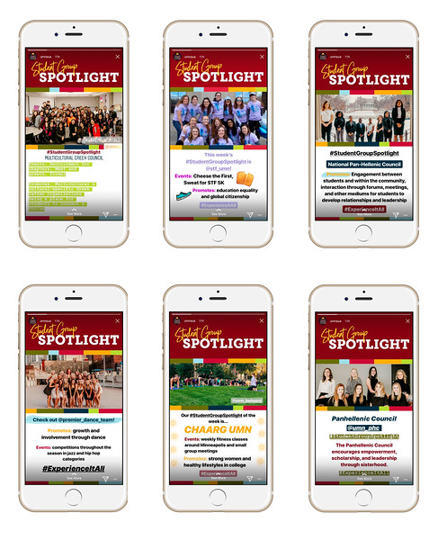 First Place: Student Group Spotlights