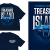Second Place: Treasure Island Homecoming Theme T-shirt