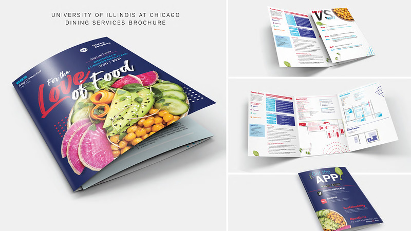 Second: UIC Dining Services - For the Love of Food; University of Illinois–Chicago
