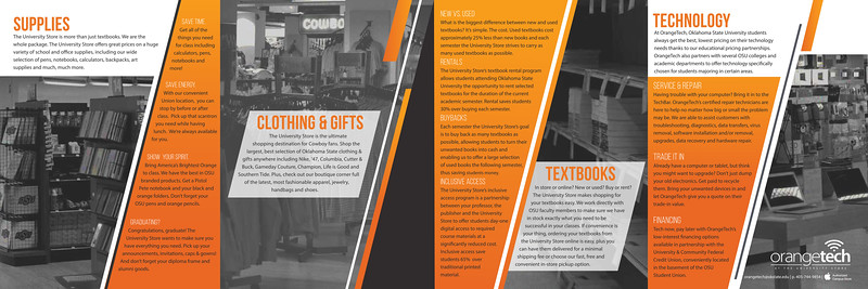 Second: University Store Brochure; Oklahoma State University