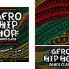 First: Flyer Card for Afro Hip Hop Dance Class; California State University–Sacramento