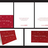 Second: CLASS Peace, Love, Joy Holiday Card; University of Houston