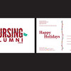 Third: UH Nursing Alumni Association Holiday Card; University of Houston