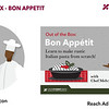 Honorable Mention: Bon Appetit Advertisements; California State University–Dominguez Hills
