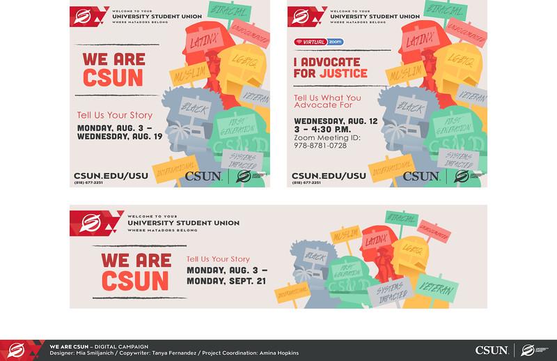 Second: We Are CSUN Advocacy Campaign; California State University–Northridge