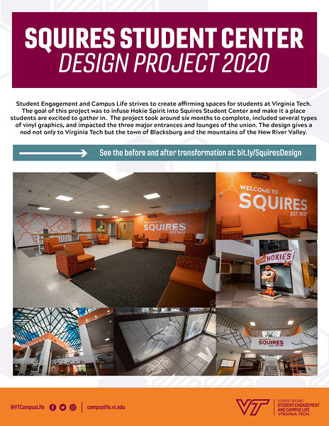 Second: Squires Design Project; Virginia Tech
