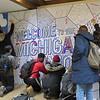 Honorable Mention: Michigan Union Live Art Wall; University of Michigan