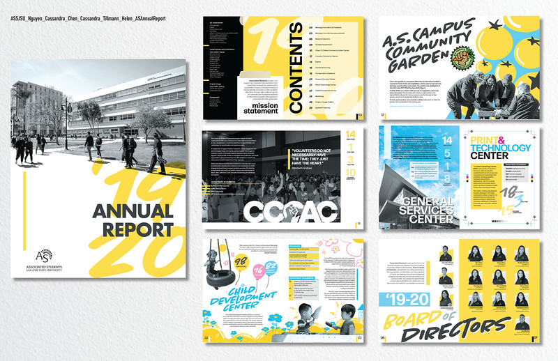 Second: A.S. Annual Report 2019-2020; San Jose State University