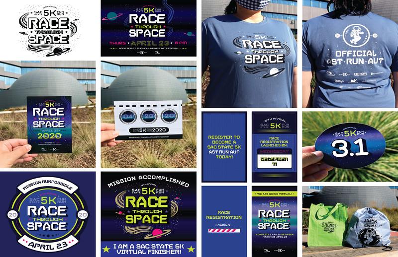 Third: Promotional Campaign for the Sac State 5K Fun Run; California State University–Sacramento