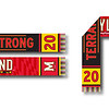 First: Homecoming 2020 Scarf; University of Maryland