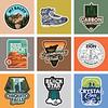 Third: Hiking Club Sticker Series; California State University–Fullerton