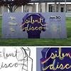 First: Banner for Silent Disco; California State University–Sacramento