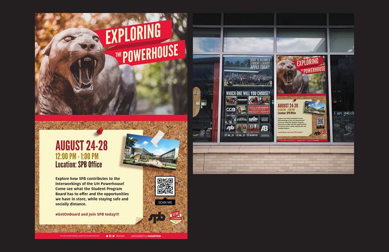 Honorable Mention: SPB Explore the Powerhouse; University of Houston