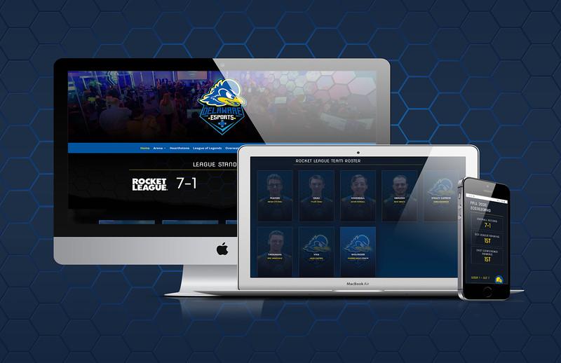 Third: Esports Website; University of Delaware