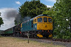 33053 and Std Tank No. 80078 at Rookwood Lane with the 13:20 Alresford - Alton, <br /> on 8th July 2017.