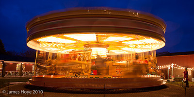 Long exposure on the Gallopers