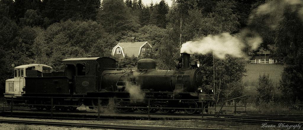 Steam Train in Sweden