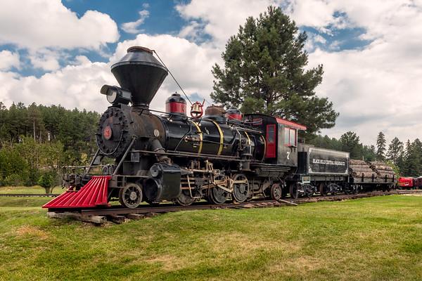 1880 Train, Black Hills Central Railroad, Hill City, South Dakota