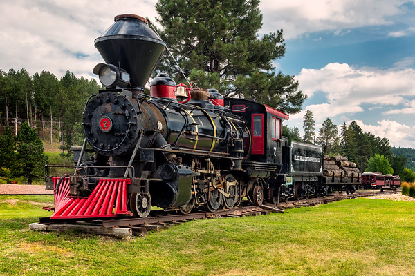 1880 Train, Black Hills Central Railroad, Hill City, South Dakota
