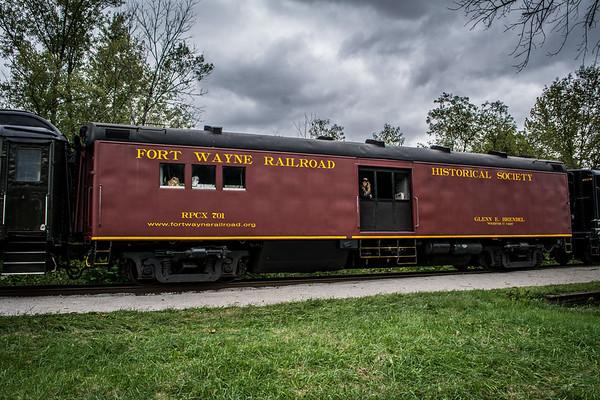 Fort Wayne Railroad Historical Society Crew Car