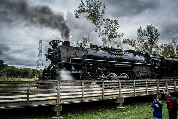 Nickel Plate Road 765 in Independence