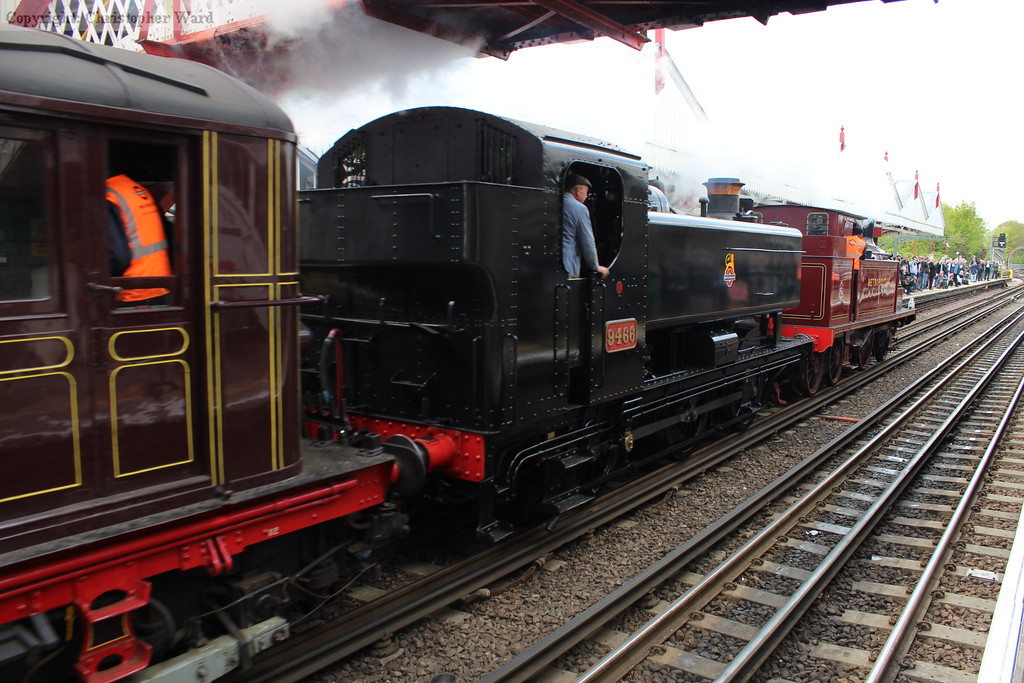 9466 and L44 bring in the stock for another departure for Harrow
