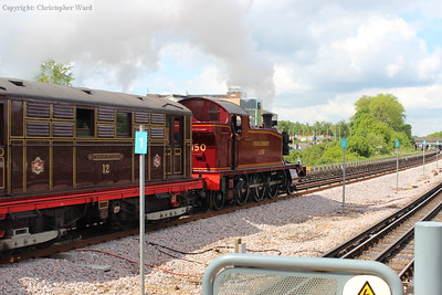 L.150 and Sarah Siddons head for Harrow-on-the-Hill