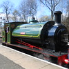 Beatrice <br /> <br /> At Bury <br /> <br /> Once we arrived at Bury Beatrice was un hooked the Fireman is un <br /> <br /> coupling Beatrice