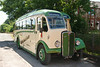 the second of the vintage buses