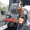 Preparing the loco
