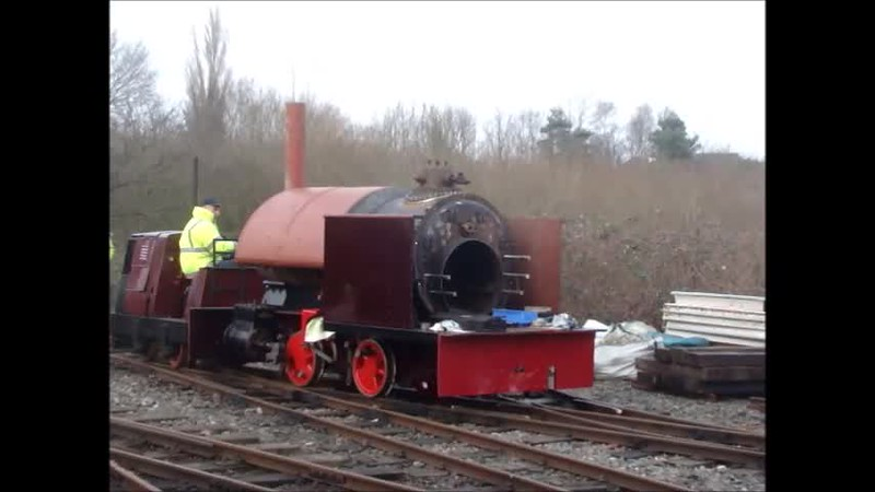 Video 1 min 24 sec Tawd pushing Sybil from headshunt to Turntable