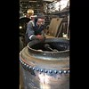 45 Sec video 9th June 2017 Riveting other end of Fire box ring
