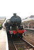 """This and the next few shots show the train sitting in Plat 2 <br /> <br /> At Middlesbrough<br /> <br /> For fully itinerary of this tour see this link off UK Steam <br /> <br /> <a href=""""http://uksteam.info/tours/t08/t0510c.htm"""">http://uksteam.info/tours/t08/t0510c.htm</a>"""