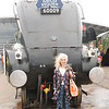 Liz and her Favourite steam Loco Class A4's