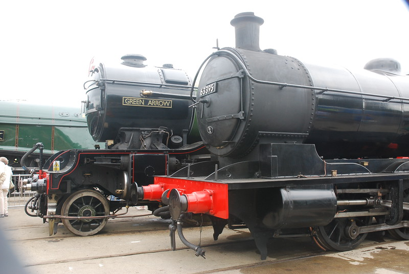 """Left <br /> <br /> V2 4771 Green Arrow <br /> <br /> Info on the above loco below <br /> <br /> <a href=""""https://en.wikipedia.org/wiki/LNER_Class_V2_4771_Green_Arrow"""">https://en.wikipedia.org/wiki/LNER_Class_V2_4771_Green_Arrow</a><br /> <br /> History of the V2 class <br /> <br /> <a href=""""https://en.wikipedia.org/wiki/LNER_Class_V2"""">https://en.wikipedia.org/wiki/LNER_Class_V2</a><br /> <br /> Right <br /> <br /> Q6 63395 <br /> <br /> History of above loco below <br /> <br /> <a href=""""http://www.nelpg.org.uk/index.php?option=com_content&view=article&id=19&Itemid=6"""">http://www.nelpg.org.uk/index.php?option=com_content&view=article&id=19&Itemid=6</a><br /> <br /> Info on the Q6 Class below <br /> <br /> <a href=""""https://en.wikipedia.org/wiki/NER_Class_T2"""">https://en.wikipedia.org/wiki/NER_Class_T2</a>"""