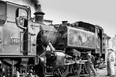Double-heading locomotives