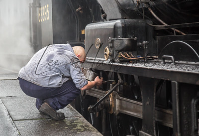 Steam train maintenance