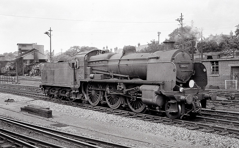 Summer 1963:  31629 runs ast prior to going on shed