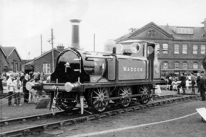 9th Aug 62:  Next stop Canada for the Ex Lancing Carriage Works shunter 'Waddon'