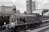 January 1962:; LSWR Class M7; 0-4-4T; 30051 at Waterloo whilst on ECS duties