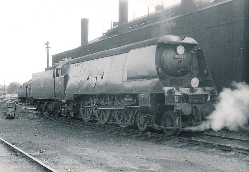 34092 City of Wells  Weymouth  1963