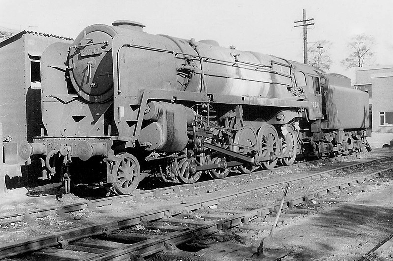92242 at Westbury in 1964
