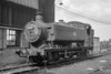 june 1964:  8498 standing on Southall shed