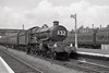 1962:  7007 'Great Western' heading for Padington draws into Slough