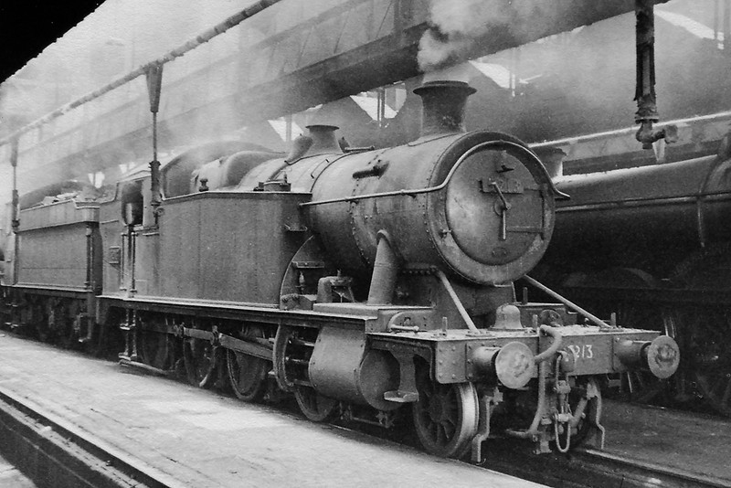 June 1964:  5213 snoozing in Westbury shed