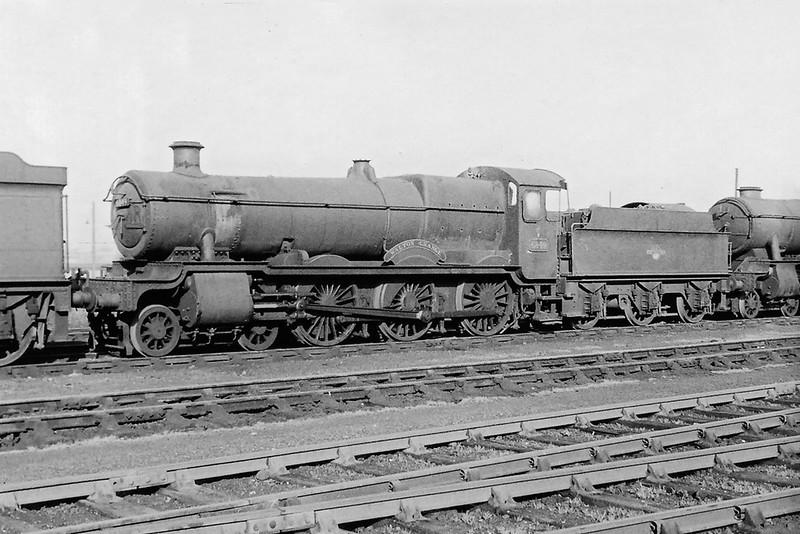 Sept 1964: 6849 Walton Grange, Westbury