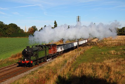 1744 9C06 1000 Loughborough to Rothley Brook at Woodthorpe on the 6th October 2013