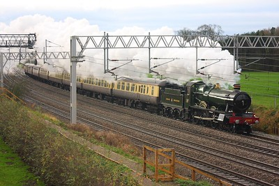 4965 at Norton Bridge with the 1Z90 Tyseley to Chester on the 28th November 2009