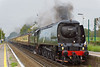 28th Oct 06:   34067 Tangmere brings the Orient Express set, from Victoria to Bristol, through Addlestone running about 30 minutes late.