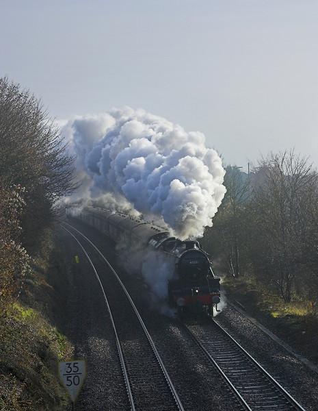 10th Dec 05:   45231, 1Z62, 06:53 Alton - Stratford & Return.  West Wycombe
